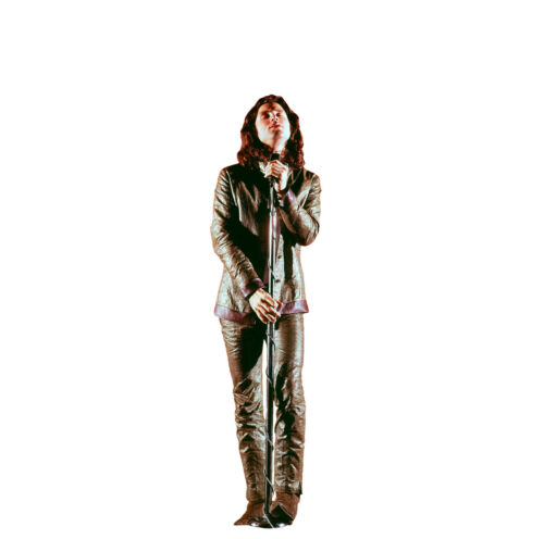 JIM MORRISON THE DOORS LIVE IN CONCERT LIFESIZE CARDBOARD STANDUP STANDEE CUTOUT
