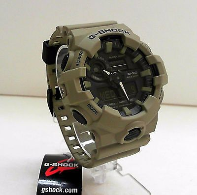 New Casio G-Shock Big Case Ana Digi World Time Watch GA-700UC-5A