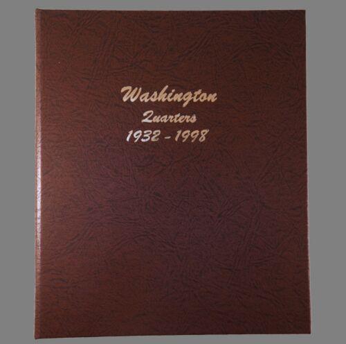 Dansco US Washington Quarter Coin Album 1932 - 1998 #7140