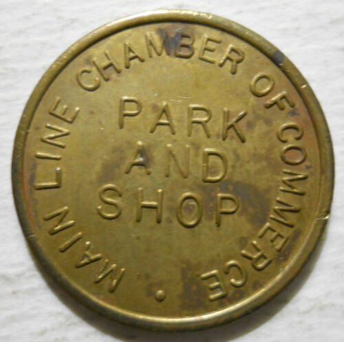 Main LIne Chamber of Commerce (Haverford, Pennsylvania) parking token - PA3448A
