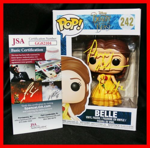 🔥 Paige O'Hara Signed Belle Beauty And The Beast Funko POP JSA PSA 🔥