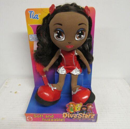 Mattel Diva Starz Tia Huggable Plush Doll Figure Brand New