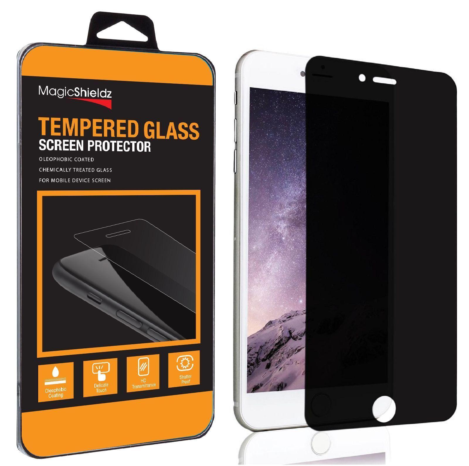 Купить MagicShieldz® - 9H Privacy Anti-Spy Tempered Glass Screen Protector for iPhone X 6 6s 7 8 Plus