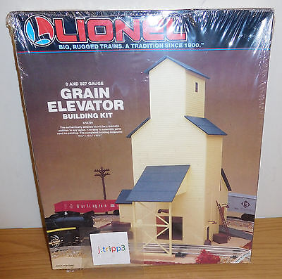 LIONEL 6-12726 GRAIN ELEVATOR BUILDING KIT TRAIN ACCESSORY O GAUGE LAYOUT SCALE for sale  Shipping to Canada