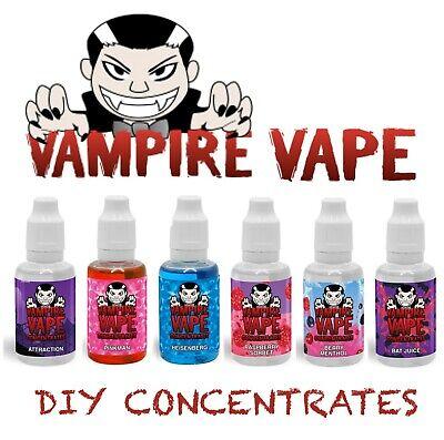 Vampire Vape 30ml concentrate for e-liquids Heisenberg Pinkman Flavour Cheapest