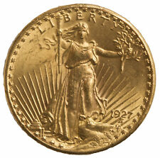 $20 Gold Saint-Gaudens (Random Date) VF or Better