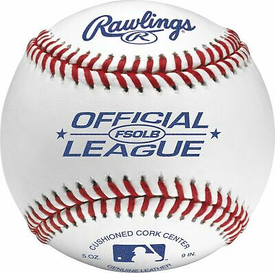 Rawlings FSOLB Flat Seam Official League Baseball (Dozen)