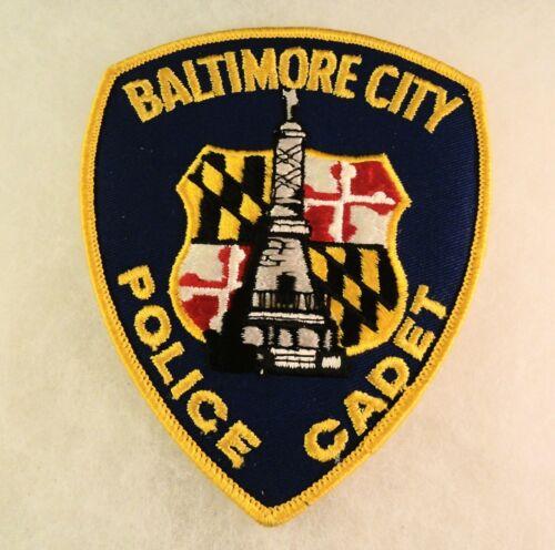 Vintage Police Patch: Baltimore City MD - Police Cadet