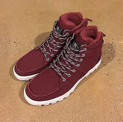 DC Woodland Boots Syrah Men's Size 13 Moc Toe Winter Boots BMX MOTO Sneakers for sale  Shipping to Canada