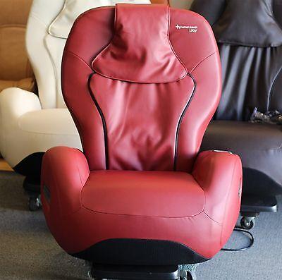 iJoy HT 2720 Red Vinyl Human Touch Robotic Massage Chair Recliner i Joy