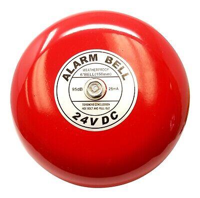 Fire Alarm Bell 24 Volt Dc 6 Security Alarm Bell 24 Volt