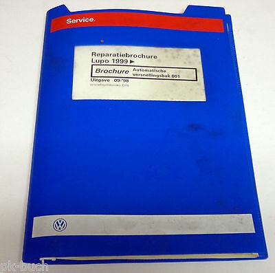 Reparatiebrochure Werkstatthandbuch VW Lupo Automatische versnellingsbak 001