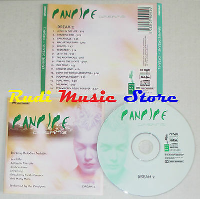 CD PANPIPE DREAMS DREAM 2 MCPS GFS03802 FLAUTO DI PAN(*) lp mc dvd