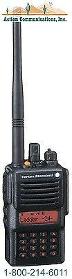 New Vertex Standard Vx 829  Vhf 134 174 Mhz  5 Watt  512 Channel Two Way Radio