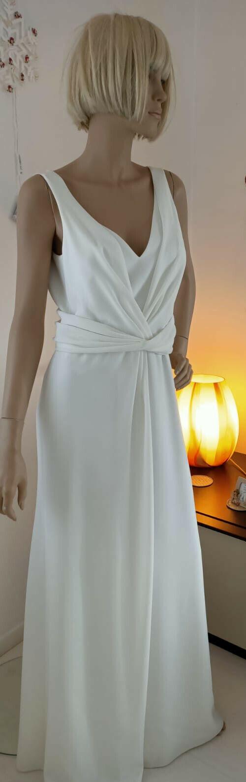 Armani splendido abito da sposa o cerimonia nuovo taglia 42 circa