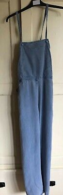 Vintage 80s jumpsuit/dungarees. Blue. Lightweight. Great condition.
