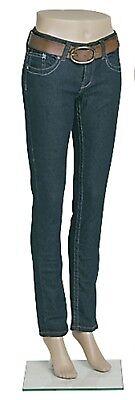Female Plastic Mannequin Leg Form 43 H Base Flesh Tone Legs Pants Shorts Skirts
