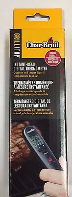 Char-Broil Instant Read Digital thermometer Meat Probe 4867720