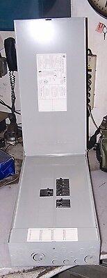 Ge 100 Amp Main Breaker Load Center 208y120 Vac 18 Circuit 3 Raintight