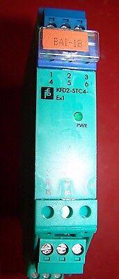 Pepperl Fuchs Kfd2-stc4-ex1 K-system Smart Transmitter Isolator Module