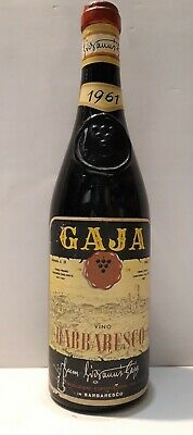 Barbaresco Gaja 1961