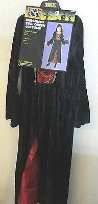 girls NEW NWT BURGUNDY EVIL QUEEN COSTUME size XL DRESS FANCY  LACE COMPLETE (Evil Queen Costume For Girls)