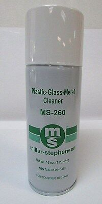 Miller Stephenson Ms 260 Safezone Glass Plastic   Metal Cleaner Industrial New