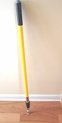 Rubbermaid Commercial Q755 Quick-Connect Straight Extension Mop Handle (Mop Straight Extension Handle)