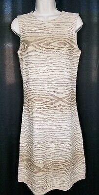 LAUREN Ralph Lauren Sweater Knit Tank Dress Southwest Cotton Linen M