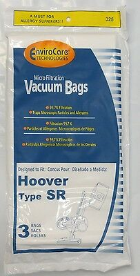 Hoover Type SR Micro-Filtration Vacuum Cleaner Bags