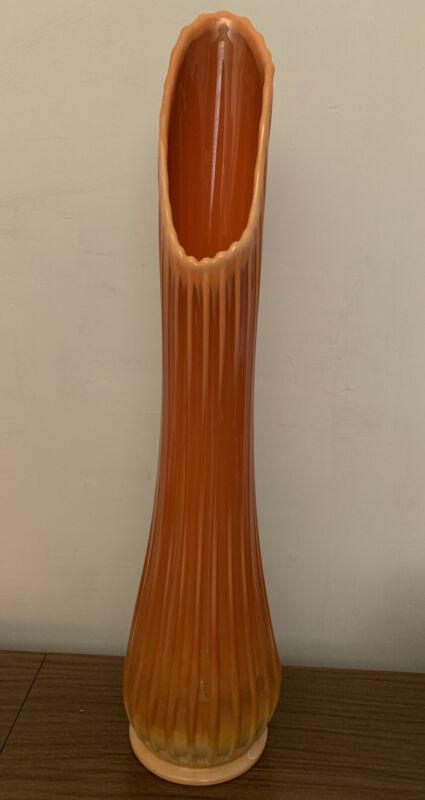 MCM LE Smith Bittersweet Orange Swung Vase Large