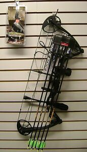 Diamond-Infinite-Edge-compound-bow-RH-5-70-13-30-draw-Black-Ops-free-arrows