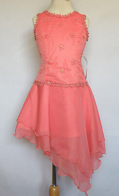 NEW  TEENS GIRL PAGEANT FLOWER GIRL FORMAL DRESS PINK IVORY SAGE LILAC CORAL RED Sage Flower Girl