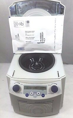 Eppendorf 5415r Refrigerated Centrifuge W Rotor New Lid 1 Year Warranty