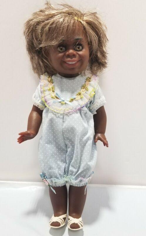 RARE Metti Aboriginal Doll With Jumper And Sandals Australia EUC