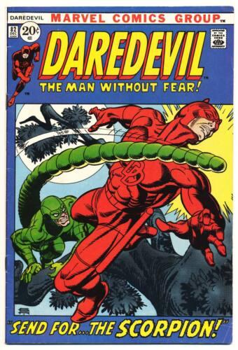 DAREDEVIL #82 VG, Marvel Comics 1971
