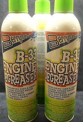 Berryman 1133 B-33 Engine Degreaser - 16 oz. 3 PACK.
