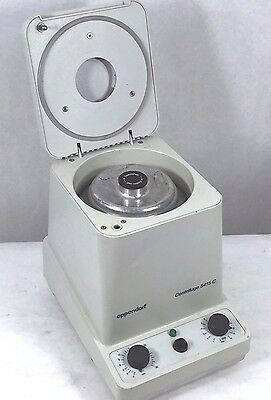 Eppendorf 5415c Centrifuge W Rotor F45-18-11 Lid Working Microcentrifuge