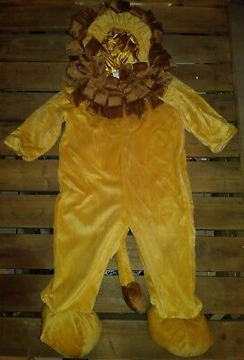 Child Sz 12-24 Months Soft Lion Costume One Piece Halloween Play Party by Target