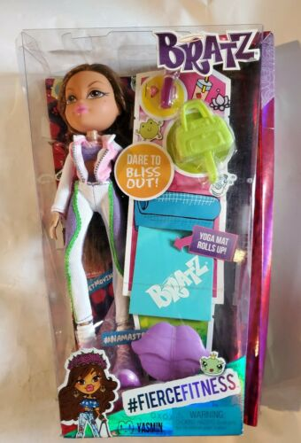 Sealed Bratz Yasmin Fierce Fitness Yoga Doll 10 Ages 5 MGA Entertainment - $19.39