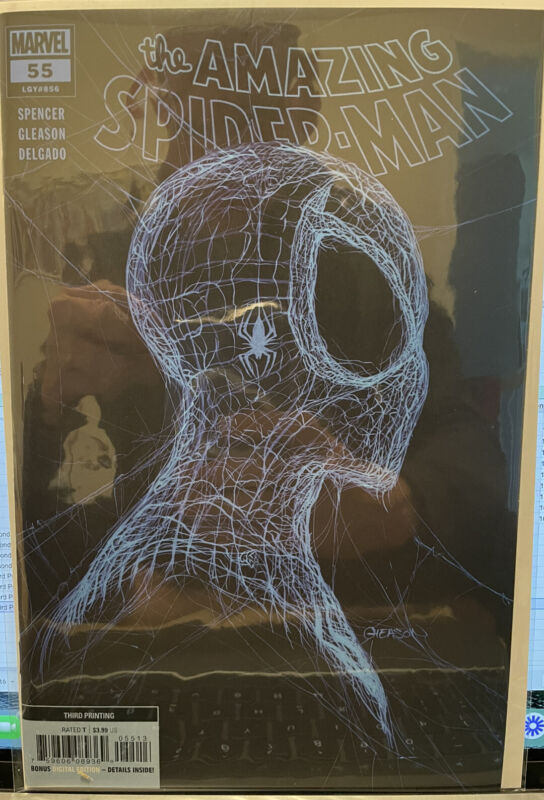 The Amazing Spider-Man #55 Gleason Trade Third Printing