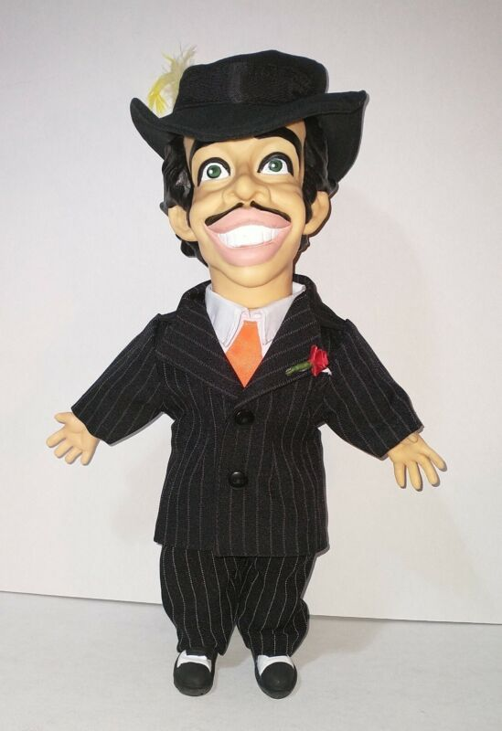 Tin Tan doll, cholo, pachuco, zoot suit, 14 Inches, Made In Mexico