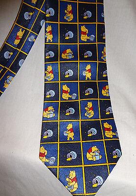 Disney Winnie the Pooh Tie 100% polyester