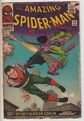 AMAZING SPIDER-MAN #39,ROMITA,KEY MARVEL SILVER AGE