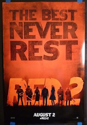 RED 2 (2013) Original 27x40 Movie Poster (Bruce Willis)