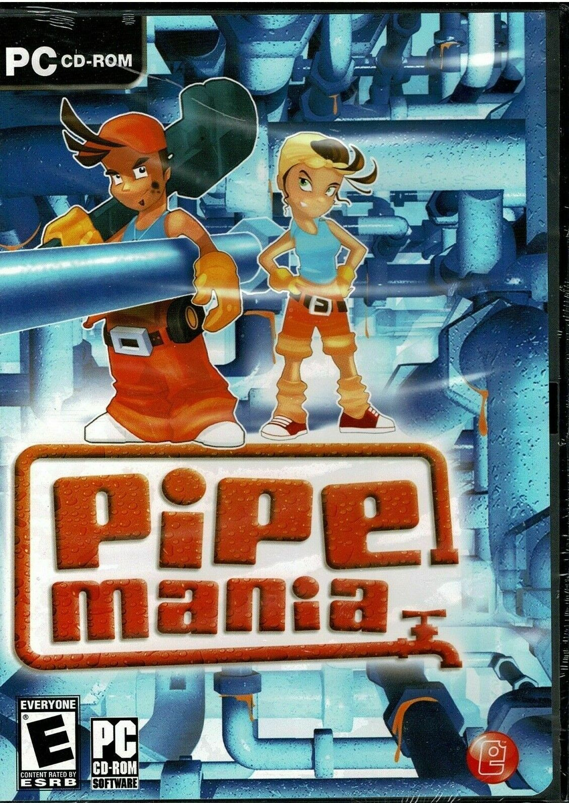 Pipe Mania Pc Brand New Sealed Free US Shipping Nice Vista XP