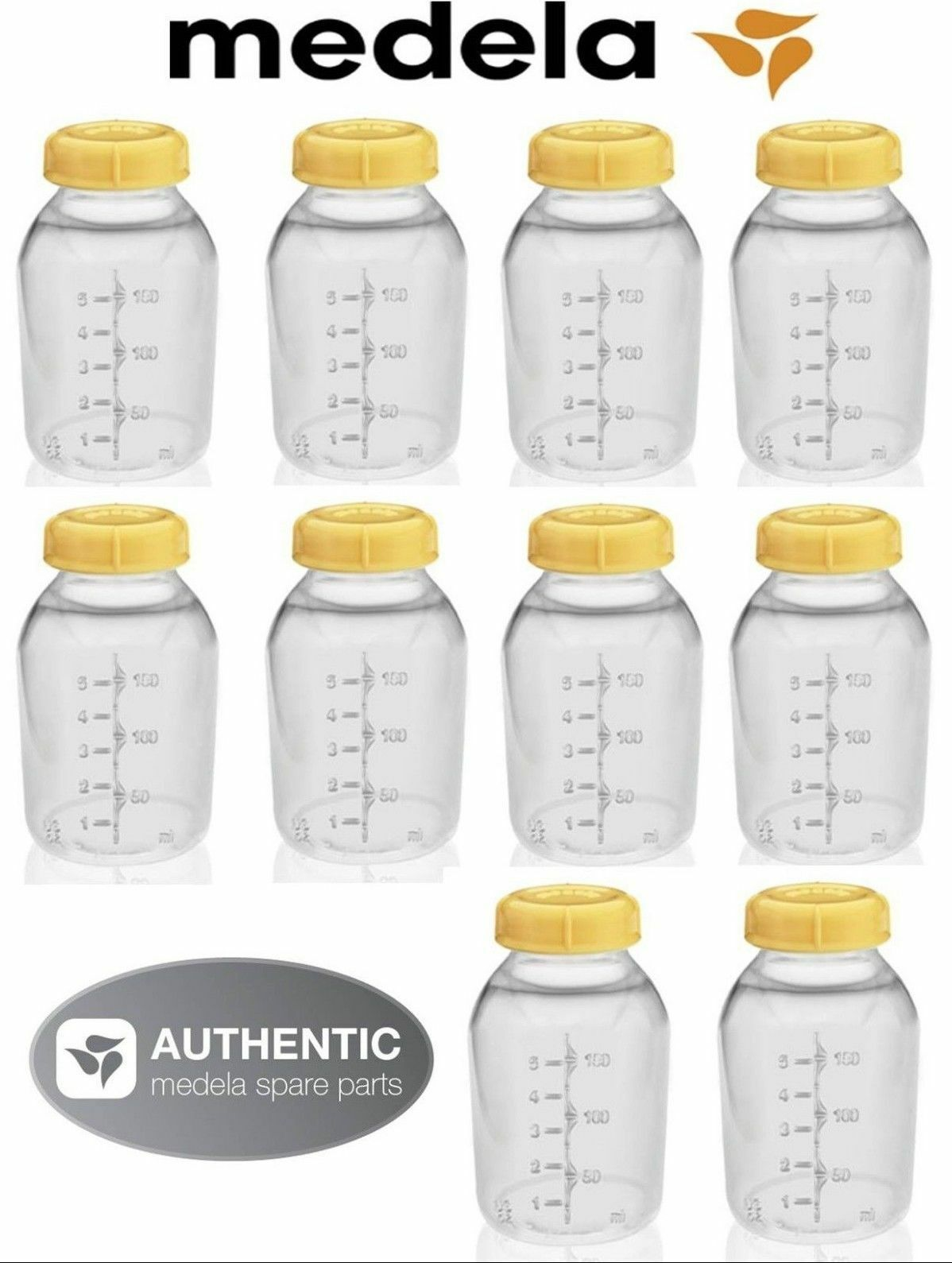 NEW! 10 MEDELA BREASTMILK COLLECTION STORAGE FEEDING BOTTLE