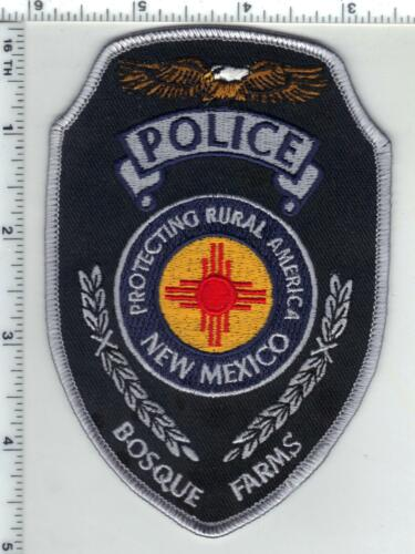 Bosque Farms Police (New Mexico) 2nd issue Shoulder Patch