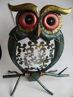 Gartenfigur  Dekoration Tierfigur Geschenkidee Eule ()