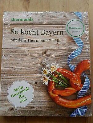 """Original Thermomix  NEU """"So kocht Bayern"""" Vorwerk Thermomix TM5  160 Seiten"""